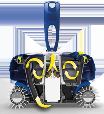 Zodiac rc 4400 for Robot piscine zodiac rc 4400